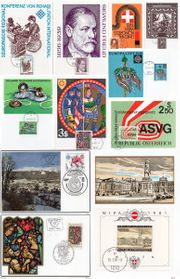 0021 ÖSTERREICH 11 tolle Maximumkarten