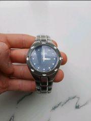 Uhr Silber fossil pr 5098