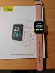 Fitness Tracker Armbanduhr mit Blutsauerstoff-Monitor