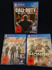 PS4 Games Bundle Tausch F1