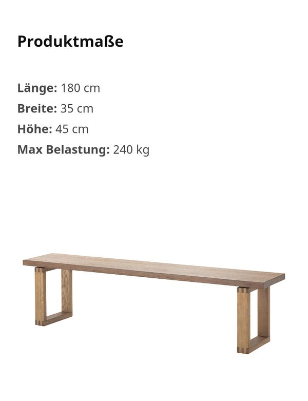 Ikea MÖRBYLÅNGA Bank