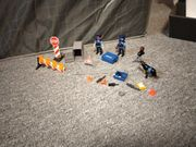 Polizei Strassensperre Playmobil Nr 6878