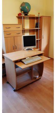 Büromöbel PC-Tisch Regal Schränke Kommode