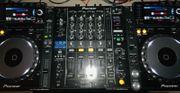 2x Pioneer CDJ-2000 Nexus und