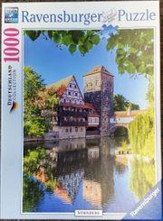 Ravensburger Puzzle 19620 - Kettensteg Nürnberg