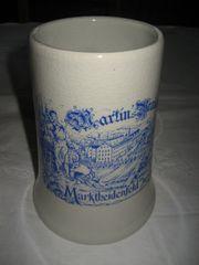Martin s Brauerei Marktheidenfeld Bierkrug
