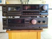 TECHNICS RECEIVER SA-GX 230-CASSETTE-DECK RS-BX626