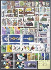DDR Briefmarken Lot 6 gestempelt