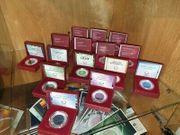 Verkaufe Silber NIOB Münzen von
