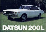 Suche Prospekt vom Datsun Laurel