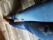 Getragene Leggings