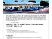 KFZ-Mechatroniker für PKW-Technik m w