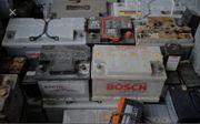 Kaufe Altbatterien auch Stapler