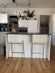 2 IKEA BERNHARD Barhocker