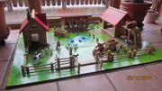 Spielzeug Holzbauernhof