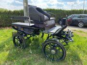 Traditionelle Kühnle Waggonette Marathonwagen