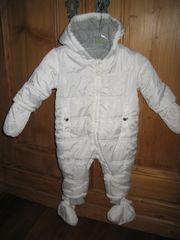 Winter Overall weiß Gr 68
