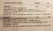 Senkrecht-Markisen 2 Stück NEUWERTIG