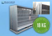18x Bauzaun AP1 18 kg