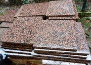 Bodenplatten für außen Rosso Balmoral