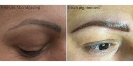 Kosmetik und Schönheit - Permanent Make up für Augenbrauen