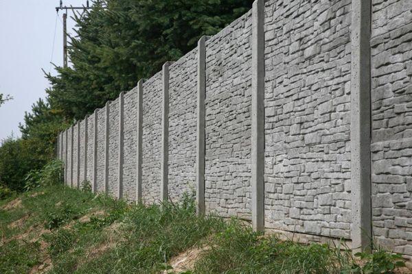Betonzäune Betonzaun Sichtschutz vom Profi