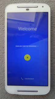 Motorola Moto G2 weiss - Top