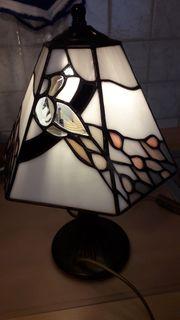 2 x Tischlampe Nachttischlampe Tiffany