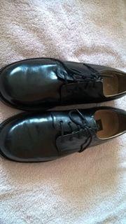 Leder Schuhe gr 40