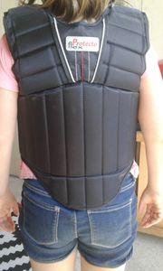 Rückenprotektor für Reiter Gr Child