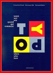 Typographie - wann - wer - wie