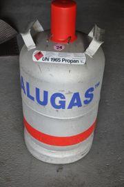 ALU Gasflasche 11 kg gefüllt