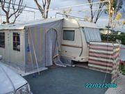 Ganzjahres Zelt mit Pultdach 3