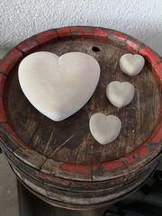 Beton-Herz für Deko