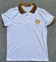 Versace Poloshirt Gr M weiß