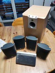 JBL 5 1 Lautsprechersystem SCSSUB
