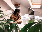 Farbenfrohes Büro Natur Wir haben