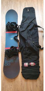 Nitro Snowboard mit Bindung Tasche