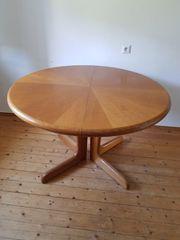 Notverkauf Tisch rund oval ausziehbar