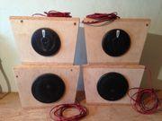 4 Lautsprecherboxengehäuse