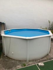 Pool Stahlwandbecken 360