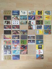 Telefonkarten-Sammlung