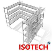 Kühlraum Kühlzellen Tiefkühlzelle Tiefkühlraum 1000x400x1900mm