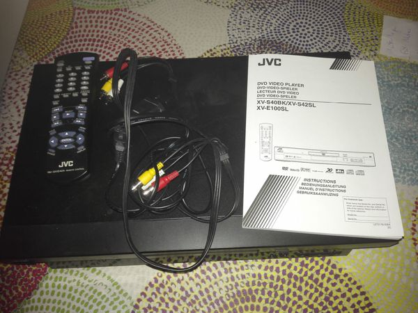 JVC DVD Player XV-S40