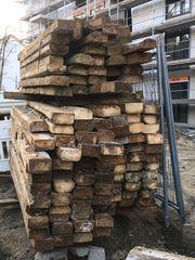 Brennholz Verbauholz Holzbalken Nadelholz Achtung