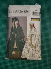 Butterick 4051 Schnittmuster Scarlett O