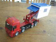Siku--3544--MB Garagentransport LKW