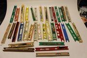 35 Stück Wickelbrettchen für Stipprutenmontage