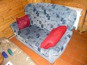 Verkaufe Hochlehner Sitzgarnitur 3- 2-