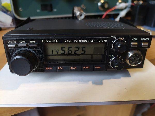 Kenwood TM 221E 2m Band
